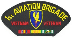 1st Aviation Brigade Vietnam Veteran Patches